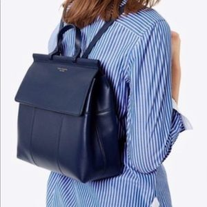 Tory Burch T Block Backpack - Navy